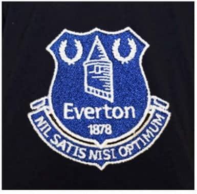 Official Everton FC Crest Polo Shirt Adults