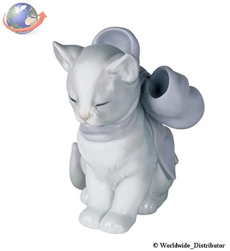 Amazon.com: Nao de porcelana by Lladro Kitty Present 2001348 ...