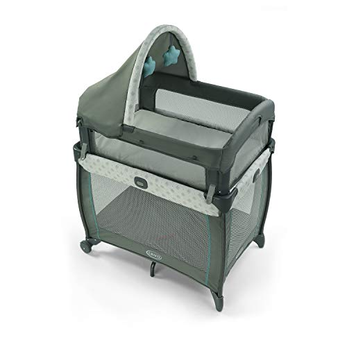 Graco My View 4 in 1 Bassinet | Baby Bassinet with 4 Stages, Including Raised Bassinet at Eye Level, Ramley