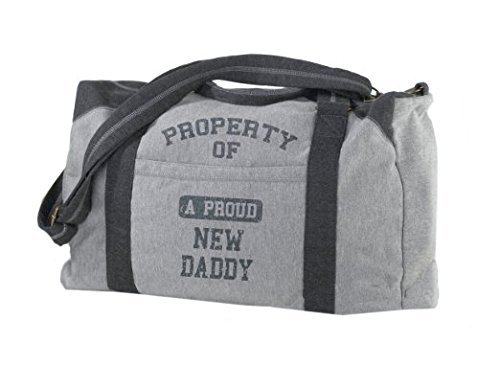 Lillian Rose Diaper Bag, Property of Daddy, 18.75 x 9 x 11.75 by Lillian Rose by Lillian Rose