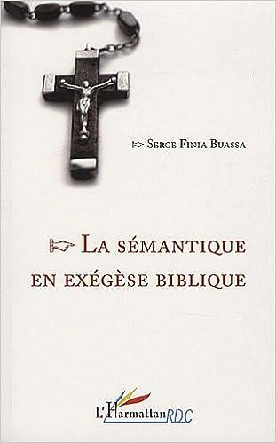 Livre gratuits Sémantique en Exegese Biblique pdf