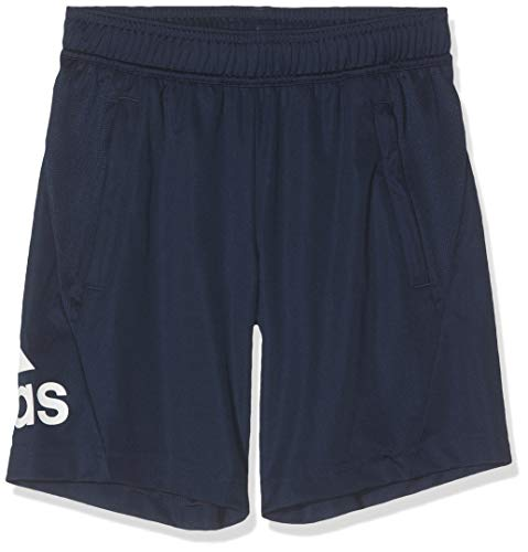 adidas Kids Shorts Training Running Fashion Equip Knit Boys Train Short New (140/9-10 Years)