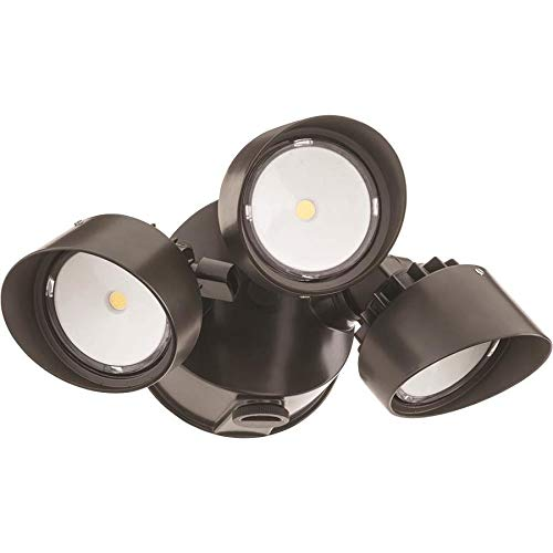 Lithonia Lighting Dusk To Dawn Three Head Led Floodlight in US - 2