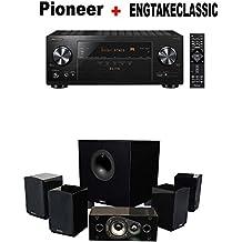 Pioneer VSX-LX103 Elite 7.2 Channel A/V Receiver + Energy 5.1 Take Classic Home Entertainment System (Set of Six, Black) Bundle