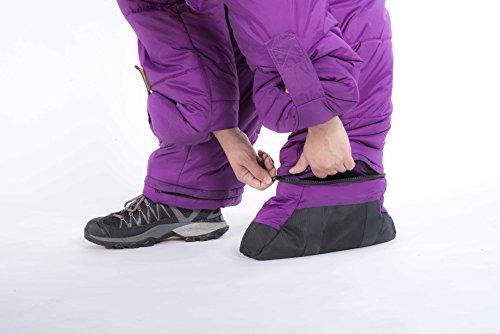 Selk'bag Adult Wearable Bag: Purple Haze, Medium