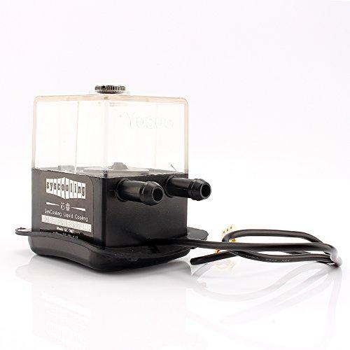 Yosoo SC-300T DC 12V Ultra-Quiet Water Cooling Pump Tank 4W Reservoir max.300L/h for PC CPU Liquid Cooling System