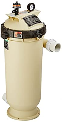 Pentair 160354 Clean & Clear RP Fiberglass Reinforced Polypropylene Tank Cartridge Pool Filter, 100 Square Feet, 100 GPM (Residential)