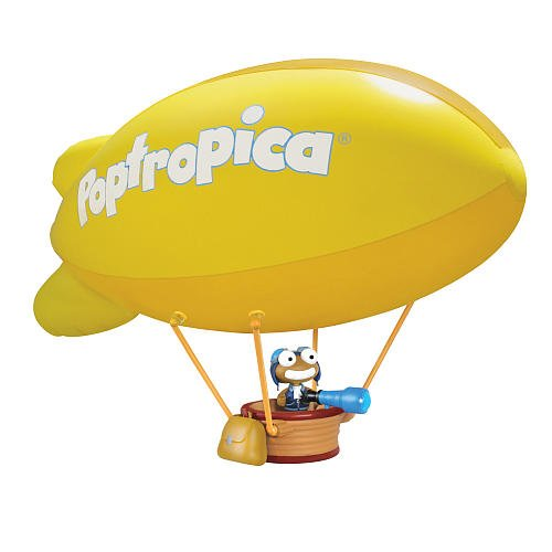 Jazwares Toys Poptropica 30 Inch Deluxe Toy Playset Inflatable Blimp (Poptropica Toys)