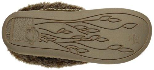 Woolrich Womens Duif Creek Mule Slipper Chinchilla / Camo Wool
