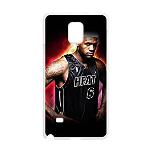 lebron james miami heat Phone Case for Samsung Galaxy Note4 Case