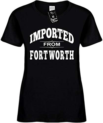 Women's Sz L Funny T-Shirt (Imported from Fort Worth (Texas, TX) Ladies