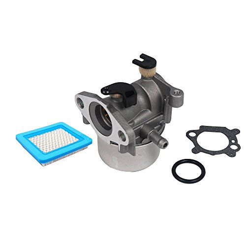 Replace Carburetor with Air Filter for Briggs & Stratton 790845 799871 799866 796707 794304 Engine 4 Cycle Lawn Mower by SaferCCTV
