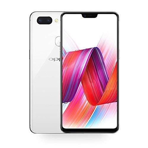 Original OPPO R15 4G LTE Mobile Phone 6.28' 6GB RAM 128GB ROM Dual rear Camera Android 8.1 2280x1080 AMOLED Screen face wake fingerprint phone … (White)