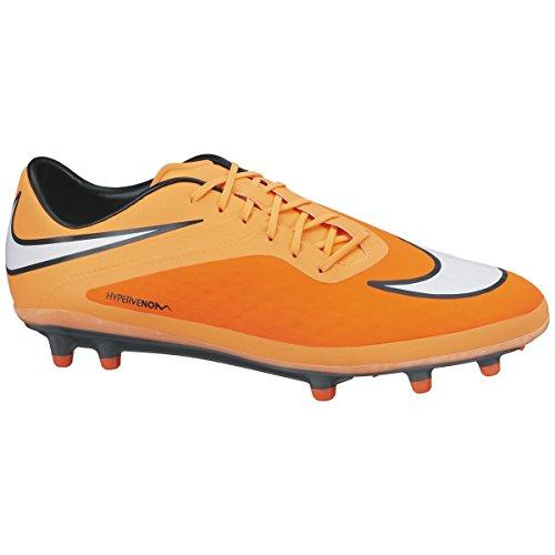 Nike Hypervenom Phatal FG Mens Football Boots 599075 Soccer Cleats Firm Ground (UK 7 US 8 EU 41, Hyper Crimson White Atomic Orange Black 800) (Nike Mercurial Victory Iv Fg Mens Football Boots)