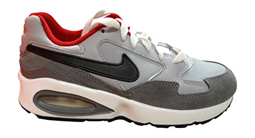 nike air max ST (GS) trainers 654288 sneakers shoes (US 5.5 BIG KID, wolf grey black gym red cool grey 007)