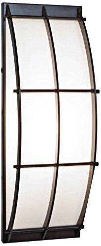 Tyro - Wet Location Wall Fixture - Bronze Finish - Opal Glass - Wet Fixture Location Wall
