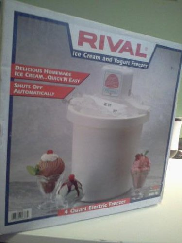 Rival Electric 4-Quart Ice Cream Maker