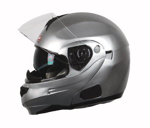 Vega Summit 3.0 Full Face Helmet (Silver, ()