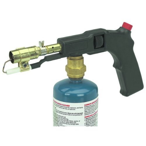Electric Start Propane Torch with Push-button electric starter
