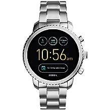 Fossil Q Men's Gen 3 Explorist Stainless Steel Smartwatch, Color: Silver-Tone (Model: FTW4000)