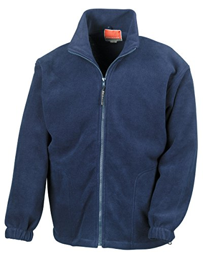 Result Active Fleece Jacke - Marineblau, 3XL
