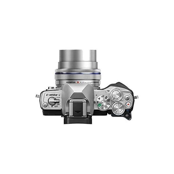 RetinaPix Olympus OM-D E-M10 Mark III Mirrorless Micro Four Thirds Digital Camera with 14-42mm EZ Lens