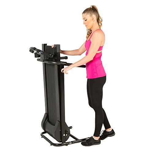 Fitness Reality Tre2500 Folding Electric Treadmill with Goal Setting Computer