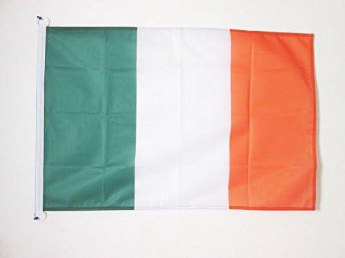 Drapeau Irlandais 60 x 90 cm Sp/écial Ext/érieur AZ FLAG Drapeau Irlande 90x60cm Drapeaux