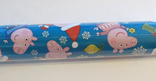 Peppa Pig Christmas Wrapping Paper Santa Suit Sweater