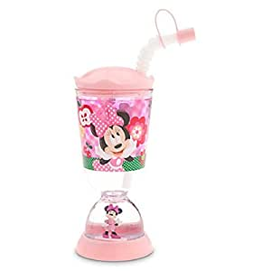Disney Minnie Mouse Snowglobe Tumbler with Straw by Minnie Mouse