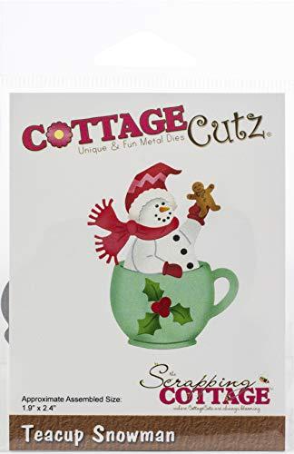 CottageCutz CC512 Dies-Teacup Snowman 1.9