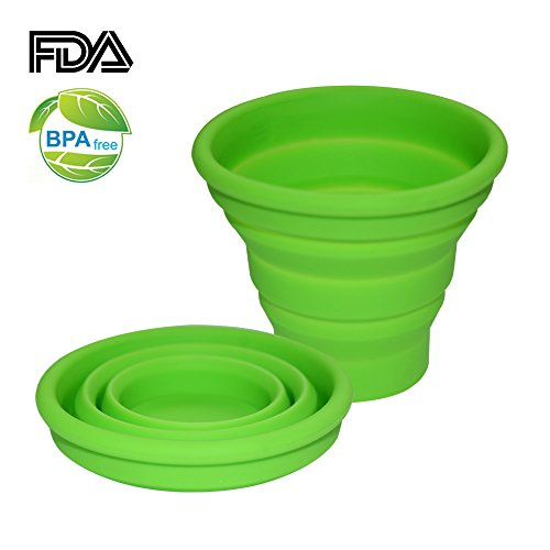 Ecoart Silicone Collapsible Outdoor Camping