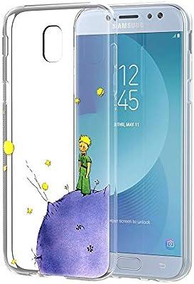 YOEDGE Funda Samsung Galaxy J7 2017 Ultra Slim Cárcasa Silicona ...