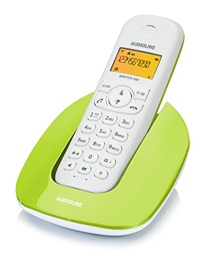Audioline 904241 Switch 200 schnurloses DECT/GAP Telefon