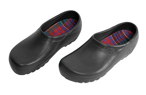 Jolly Fashion by Alsa ...der schwarze PU Schuh mit auswechselbarem Korkfußbett, 44