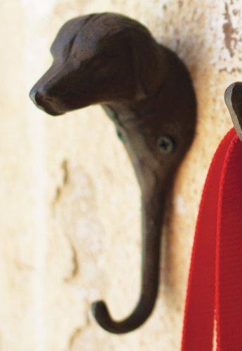 Cast Iron Dog Hook by Kalalou