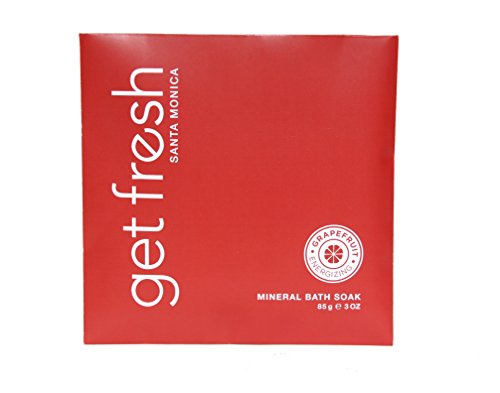 Get Fresh Santa Monica - Mineral Bath Soak Envelope 3oz Grapefruit
