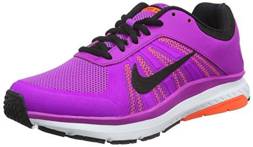 Nike Vrouwen Dart 12 Hardloopschoen Hyper Violet / Totaal Karmozijnrode / Wit / Zwart