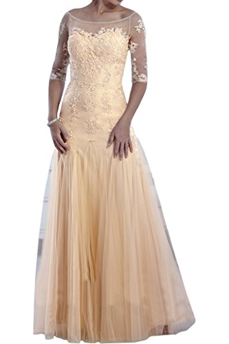 Victory Bridal - Robe - Crayon - Femme -  beige - 50