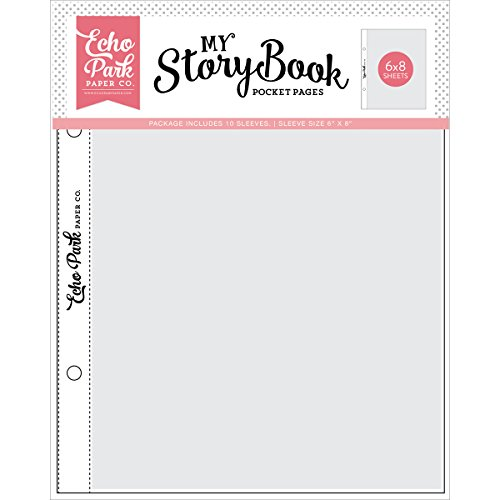 - Echo Park Paper Company My Storybook Album Pocket Pages 6