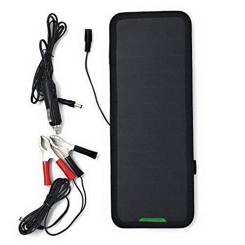 Solar Powered Car Battery Charger 12V - 2