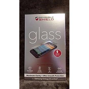 Amazon Com Zagg Invisible Shield Glass For Samsung Galaxy
