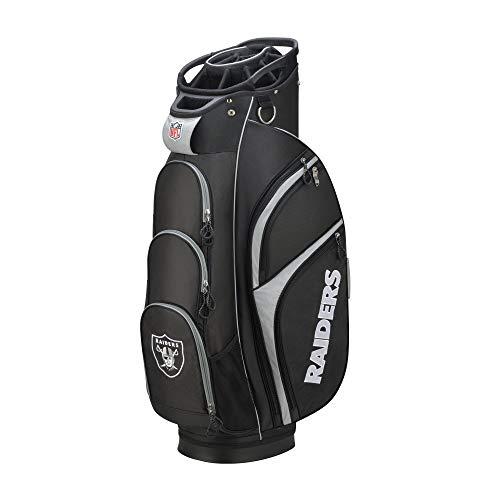 Wilson 2018 NFL Golf Cart Bag, Oakland Raiders (Renewed) (Wilson Nfl Golf Cart Bag)