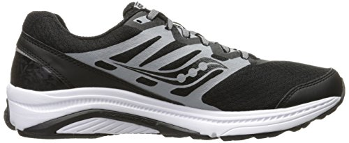 Saucony Mens PowerGrid linchpin Running Shoe Black/Grey AVxNq