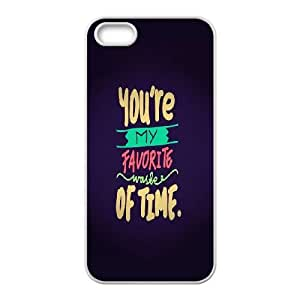 iPhone 4 4s Cell Phone Case White Favorite Waste Of Time FY1440549