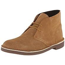 Clarks Men's Bushacre 2 Chukka Boot, Wheat Suede, 9.5 M US/42.5 EU