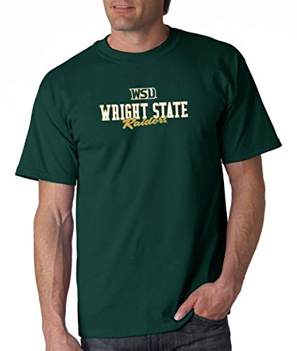 J2 Sport Wright State Raiders NCAA Campus Script Unisex - University State Wright