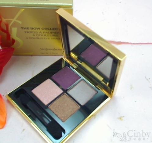 Yves Saint Laurent YSL the BOW Collection 4 Colour Eyeshadow Palette - .14 Oz/4 G -Limited -