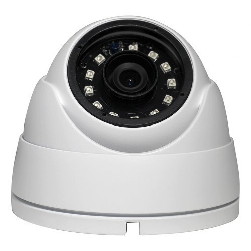 "Cheap 1 Megapixel (1MP) 720p Turret ""eyeball"" Indoor Outdoor Weatherpoof IP66 Rated Analog, HDCVI, HDTVI, AHD Dome Camera with 65 feet Built Infrared Nightvision IR, Free Warranty and US Tech Support"