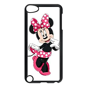 iPod Touch 5 Case Black Disney Mickey Mouse Minnie Mouse R3331317
